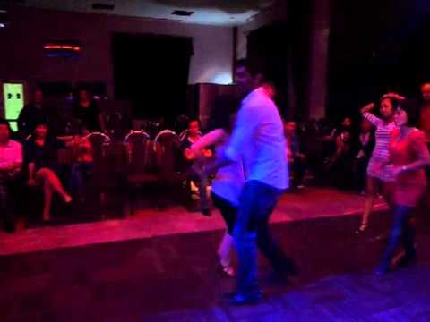 Salsa in Hanoi , social dance Neeraj Maskara & Vjt beo, Ruby Sal , Ha Tran , Nga coco , ....
