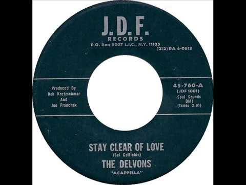 Delvons - Stay Clear Of Love / Please Stay (J.D.F. 760) 1967