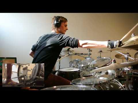 Breaking Benjamin  Save Yourself Drum  w Foot Cam