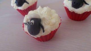 How to make sheep Cupcakes -Inji&#39s Kitchen