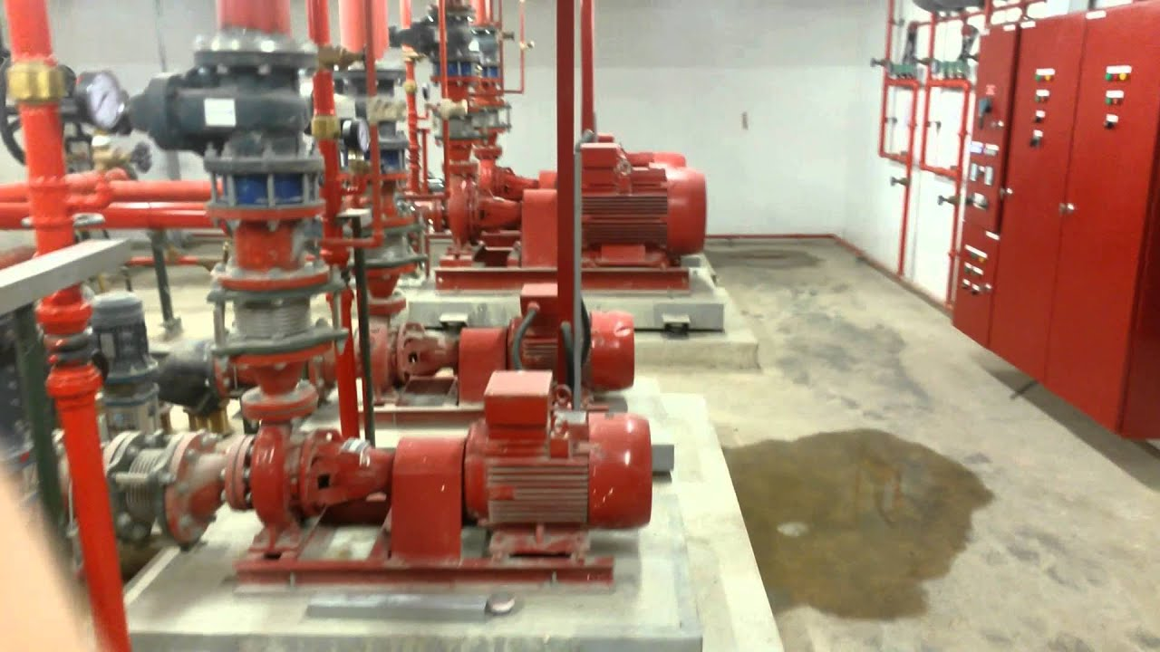 sprinkler pumproom
