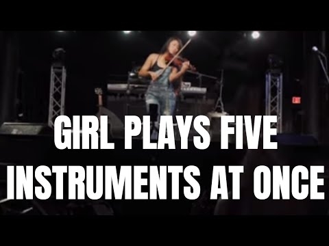 [Multi-Instrument Looping] | One-Woman Band Symphony Show | Olivia Thai Live