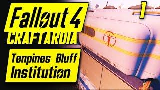 Fallout 4 Tenpines Bluff Institution 1 - Base Building Timelapse - Fallout 4 Settlement Building PC