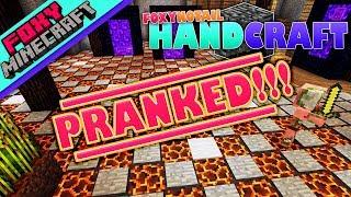 Minecraft | PRANKING LAVAMAN | HandCraft [6]