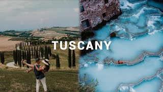 MOST BEAUTIFUL PLACES TUSCANY 🇮🇹 ∙ Europe Roadtrip ∙ #Vlog 120