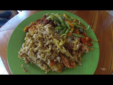 Indonesia Bali Street Food 1806 Part.1 Nasi Campur Vegetarian Kasih Vegan YDXJ0839