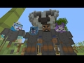 Minecraft Xbox - Koala VS Bears - 4v4 Team SkyWars