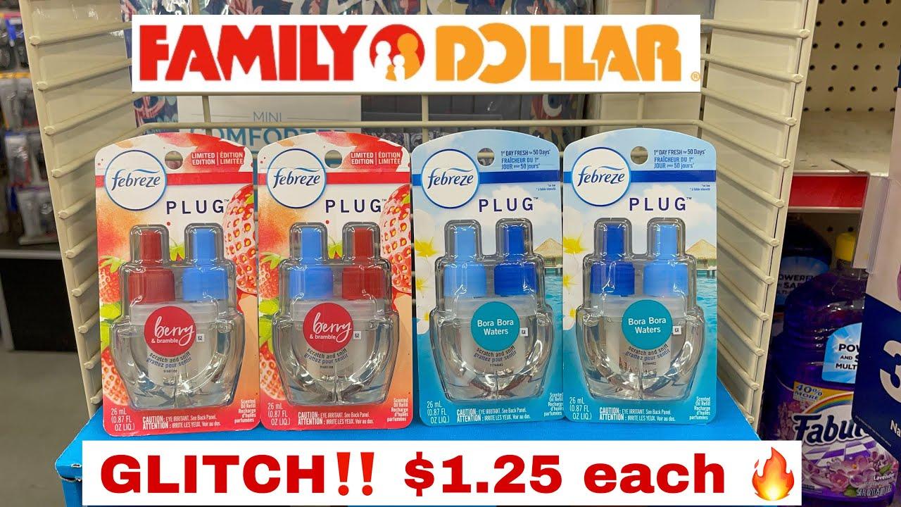 Family Dollar Couponing | FEBREZE GLITCH‼️ English & Español ❤️