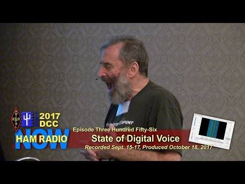 HRN 356: Bruce Perens K6BP - State of Digital Voice - 2017 DCC on Ham Radio Now