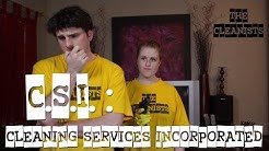 """The Cleanists - S01E08: """"CSI: Cleaning Services Incorporated"""""""