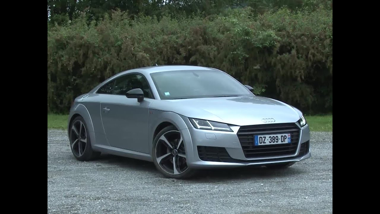 essai audi tt coup 1 8 tfsi 180 s line 2016 youtube. Black Bedroom Furniture Sets. Home Design Ideas