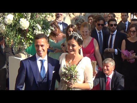 El gallego Lucas Vázquez y Macarena Rodríguez, padres de un niño