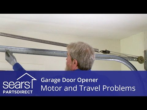Garage Door Won't Move: Motor and Travel Troubleshooting