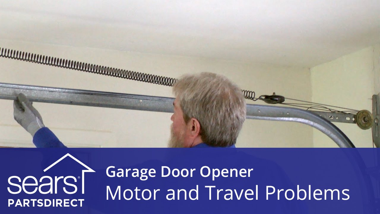 Garage Door Won T Move Motor And