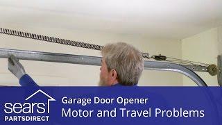 Garage Door Wont Move Motor And Travel Troubleshooting