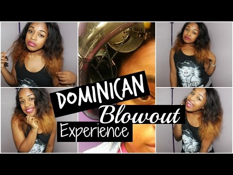 My Experience | Dominican Blowout On Natural Hair