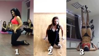 #02 Кто сексуальнее? Девушки танцуют и снимают себя на видео
