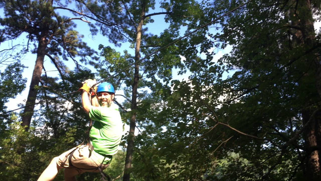 Callaway gardens treetop adventure corey lake course 5 zip lines obstacle course youtube for Callaway gardens treetop adventure