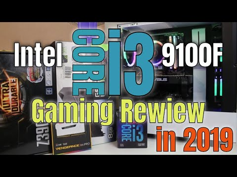 Intel I3-9100F Review Gaming In 2019 With GTX 1070 FPS Benchmark Test 1080p $400 Gaming PC