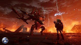 Unreal Engine 4 - Zelda: Ganon Fight  [Download link]