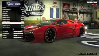 GTA 5 PS4 - Cara Modifikasi Mobil Mewah