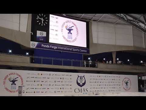 Closing Ceremony - 5th CMAS Underwater Hockey Age Group Worlds - Sheffield, UK