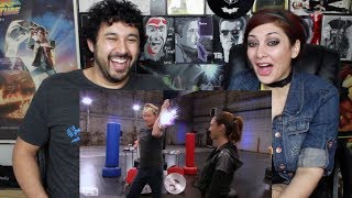 CONAN Works Out With WONDER WOMAN GAL GADOT - REACTION!!!