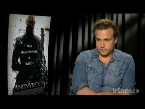 Rafe Spall Interview - Anonymous