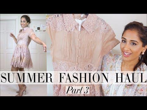 SUMMER DESIGNER & HIGHSTREET HAUL ft. ZIMMERMANN YSL NEW LOOK & H&M | Beauty Passionista