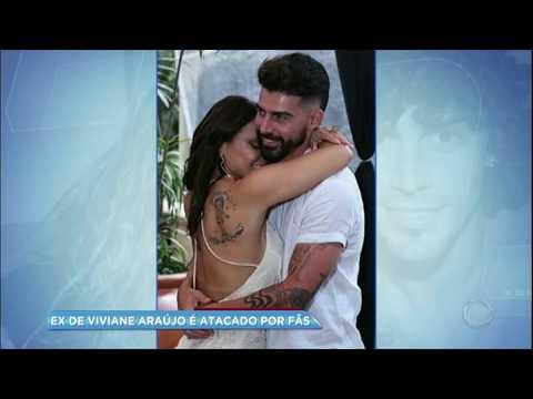 Hora da Venenosa: ex-noivo de Viviane Araújo é ameaçado nas redes sociais