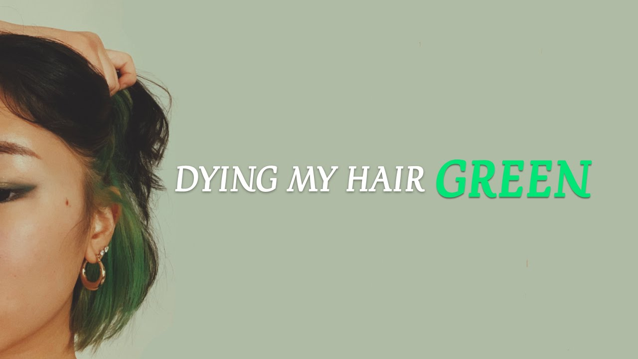 what to do when your hair turns green after dying