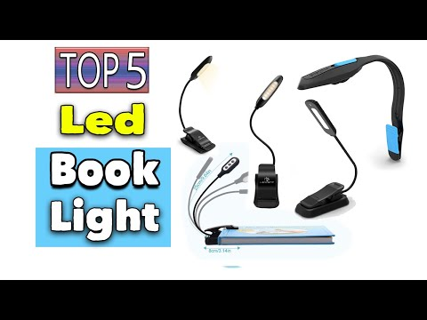 Best Led Book Light Rechargeable