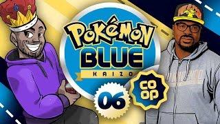 Pokémon Blue Kaizo Co-op w/ TheKingNappy & Shofu! - Ep 6 'THE STRUGGLE'
