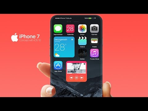 iPhone 7 Concept Video with iOS 10 Preview
