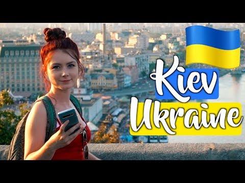 Jumping Off A Bridge In Kiev (Kyiv) Ukraine