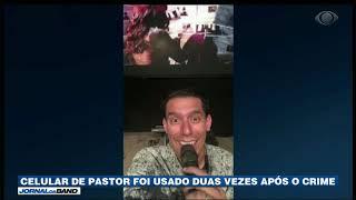 RJ: Celular do pastor assassinado foi usado após o crime