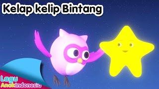 Kelap Kelip Bintang (Twinkle Twinkle Little Star) 3D | Lagu Anak Indonesia