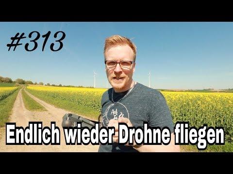 Daily-Vlog 313 Endlich wieder Drohne fliegen - deutsch