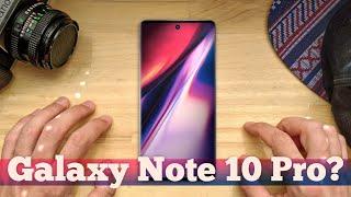 Это Galaxy Note 10 Pro и он СТРАННЫЙ  Droider Show 450