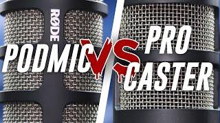 Rode Podmic vs Rode Procaster Comparison (Versus Series)