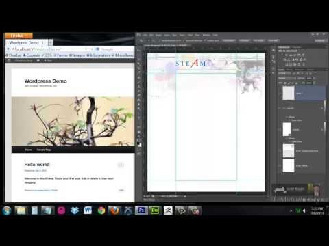 Customize any WordPress Theme (Part 1) - Understanding style.css, header.php, footer.php