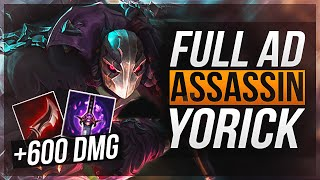 FULL AD ASSASSIN YORICK | One-Shot Potential - League of Legends