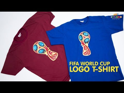 FIFA World Cup - Russia 2018 Logo T-shirt DIY