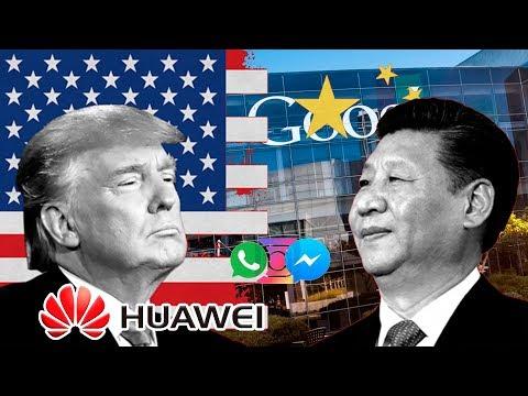 Huawei Se Desploma 40%, Y Se Queda Sin Facebook, WhatsApp E Instagram | Analisis