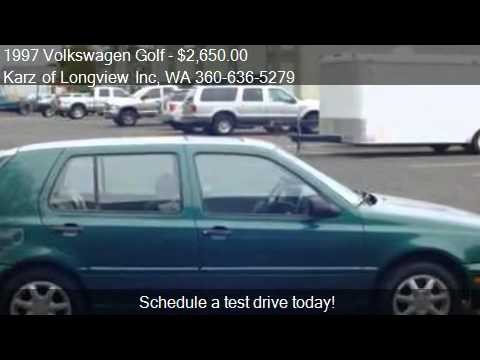1997 Volkswagen Golf 2-OWNERS - for sale in Longview, WA 986