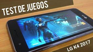 LG K4 2017 - Test de juegos