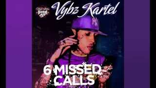 Download Vybz Kartel - 6 Missed Calls (Audio) MP3 song and Music Video