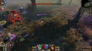 The Incredible Adventures of Van Helsing - Boss Fight (Co-Op VS Solo Gameplay)(HD)