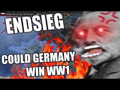 Hearts Of Iron 4: WW1 ENDSIEG - COULD GERMANY HAVE WON WW1?