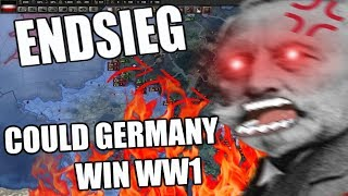 Hearts Of Iron 4 WW1 ENDSIEG - COULD GERMANY HAVE WON WW1